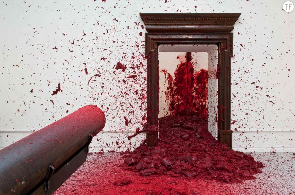 """Anish Kapoor, """"Dans le coin"""" (Lisson Gallery)"""