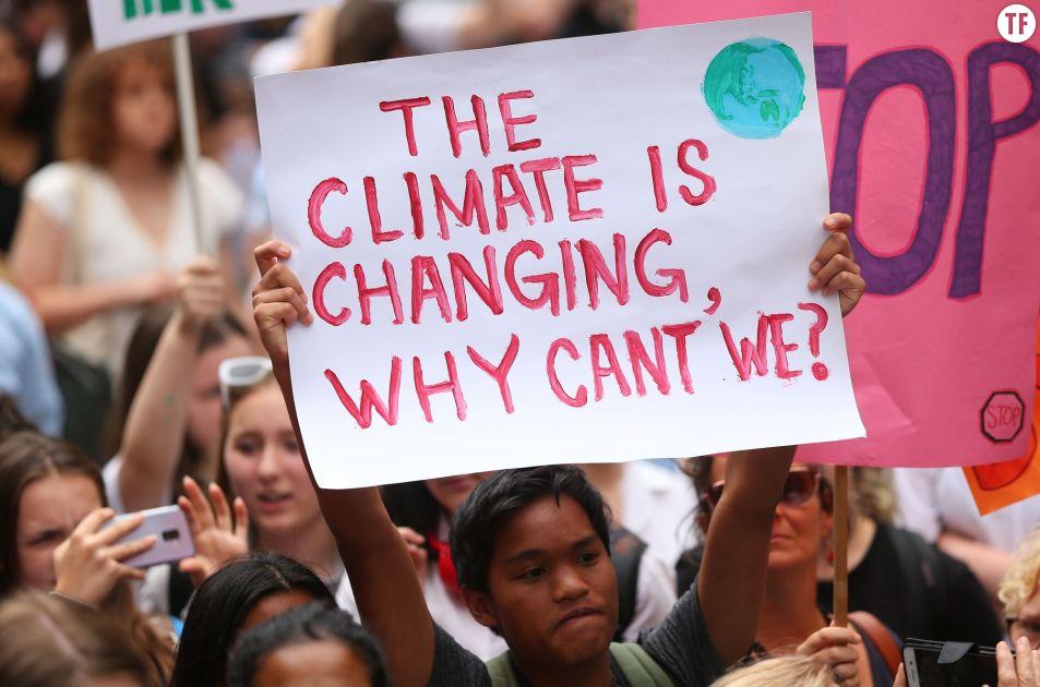 Le changement climatique est source d'anxiété. Getty Images.