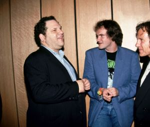Harvey Weinstein, Harvey Keitel et Quentin Tarantino