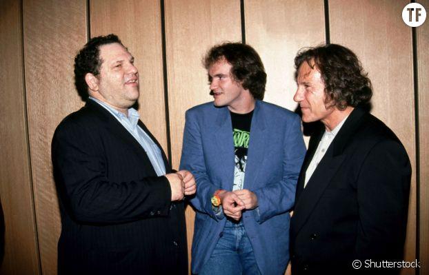 Harvey Weinstein, Harvey Keitel et Quentin Tarantino