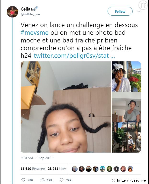 Le défi #MeVsMe est rapidement devenu viral.
