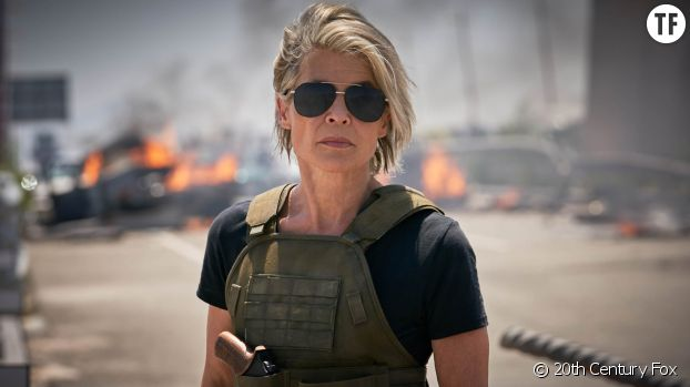 "Sarah Connor : ""i'll be back""."