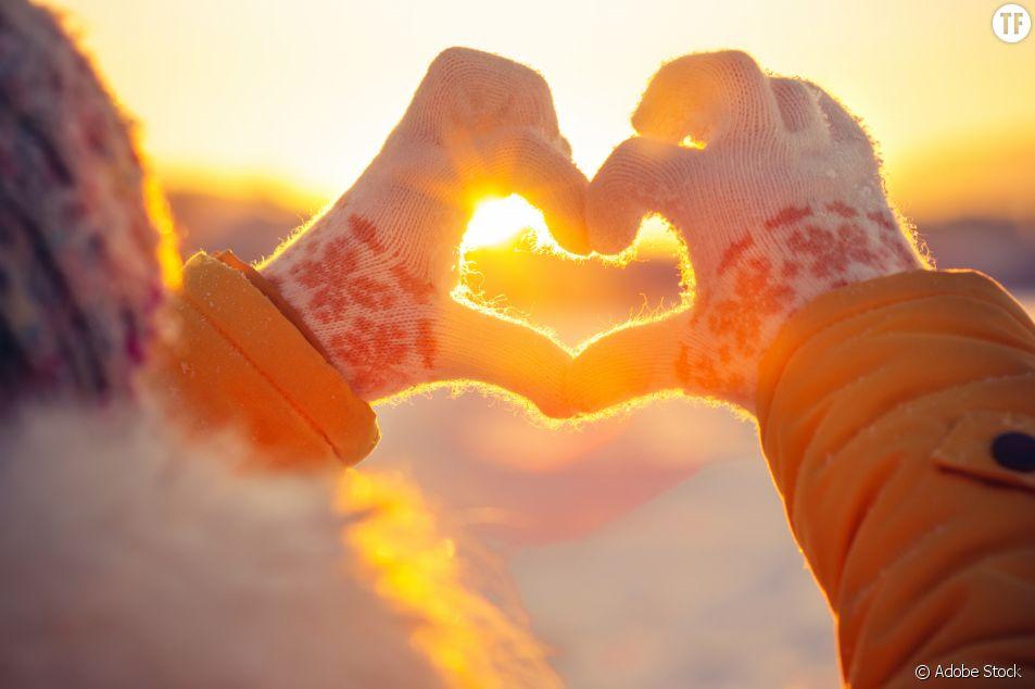 Sortie en amoureux quand il fait froid