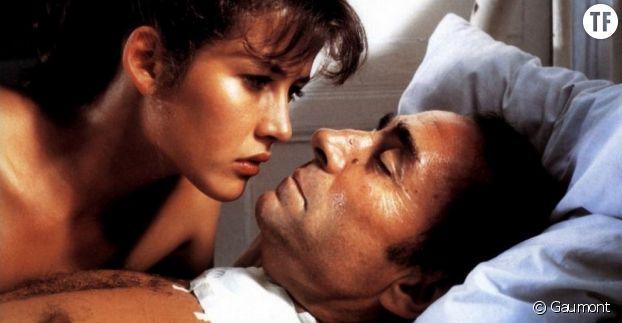 """Claude Brasseur et Sophie Marceau dans """"Descente aux enfers"""" : 30 ans d'écart."""