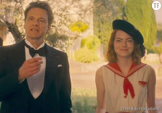 "Emma Stone et Colin Firth dans ""Magic in the Moonlight"""