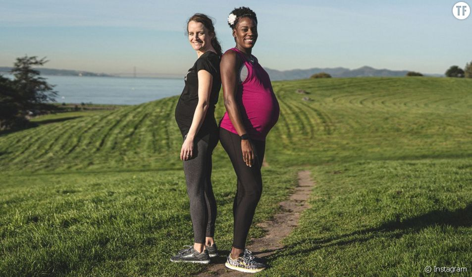 La marque Altra Running met à l'honneur les sportives enceintes.