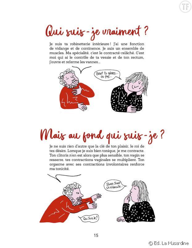 """""""Périnée, What's the Fuck ?!"""", d'Aude et Anne-Florence Louzé. Illustrations Xavier Millon."""