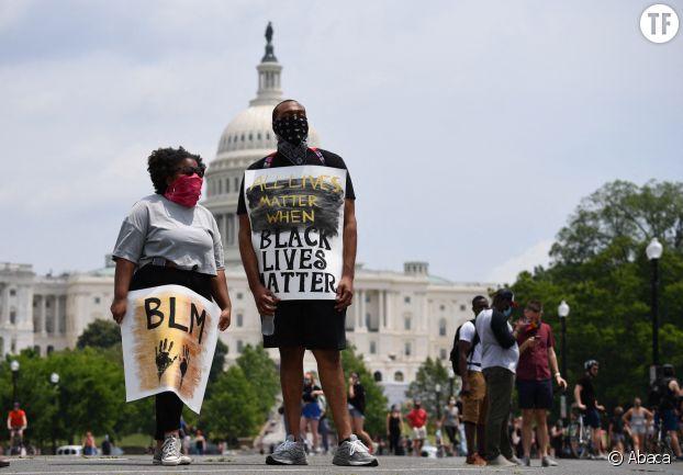 Rassemblement Black Lives Matter à Washington le 6 juin 2020