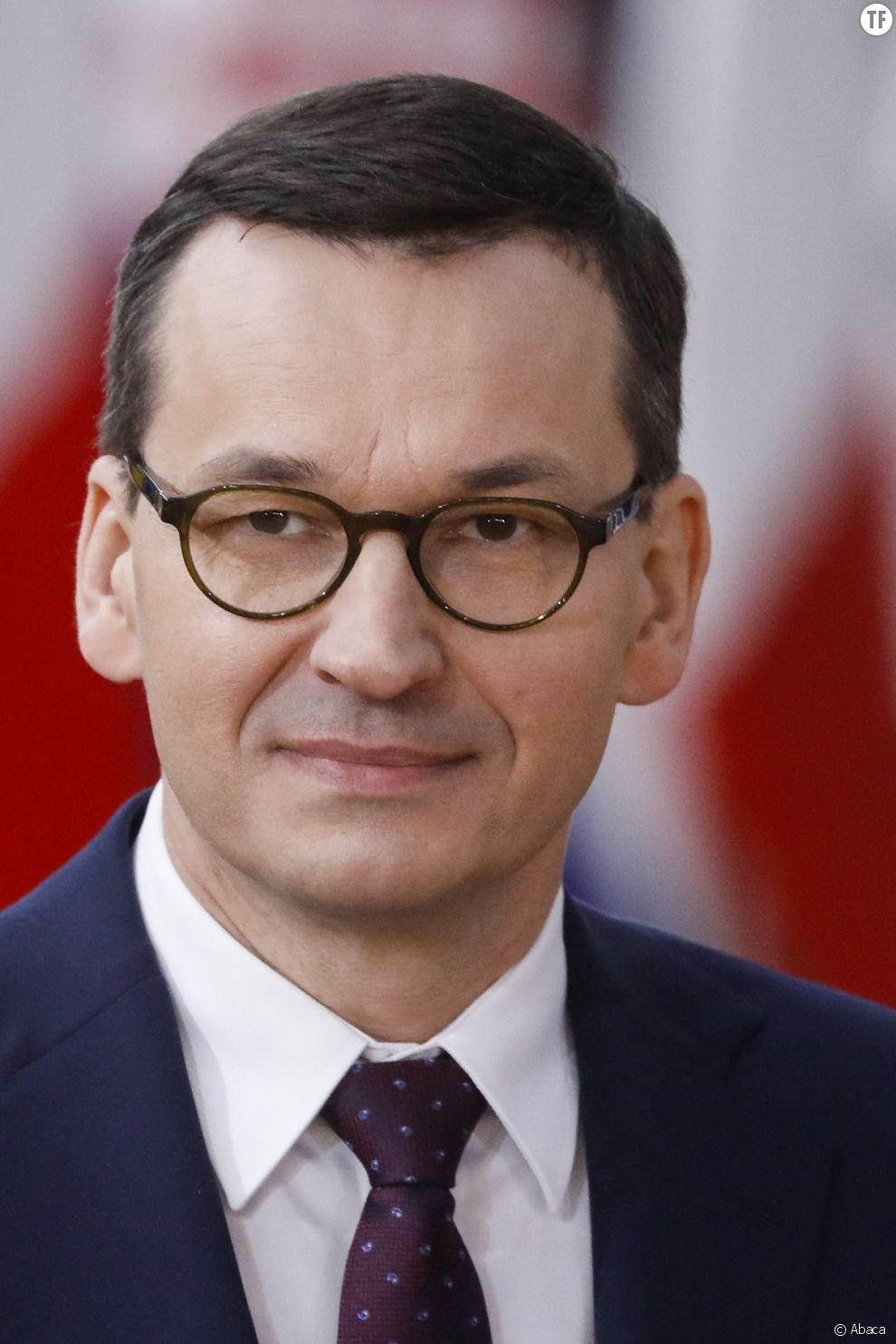 Le Premier ministre polonais Mateusz Morawiecki