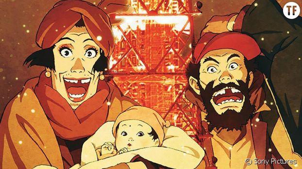 """""""Tokyo Godfathers"""" de Satoshi Kon (2003)"""