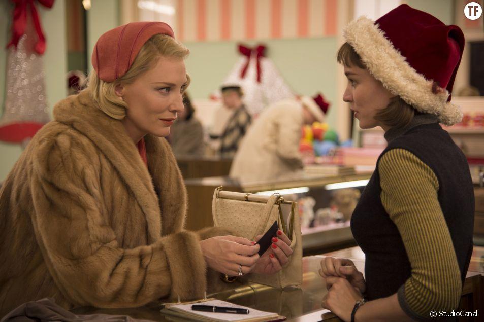 """""""Carol"""" de Todd Haynes avec Cate Blanchett et Rooney Mara."""
