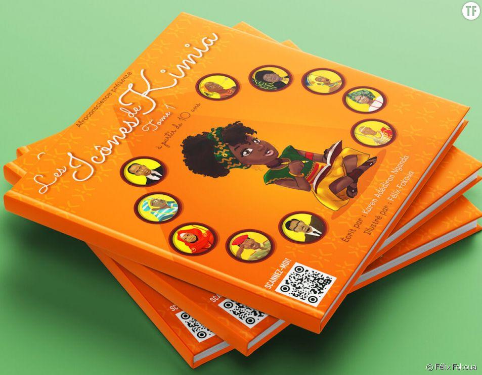"""""""Les Icones de Kimia"""", le livre pour enfants qui célèbre l'Histoire du continent africain"""
