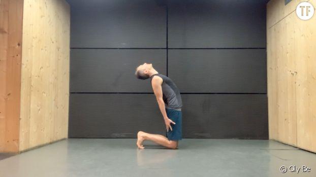 Posture du chameau