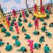"""Les jeux meurtriers de """"Squid Game"""" inspirent les enfants (et c'est flippant)"""