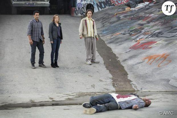 The Walking Dead : photo du spin-off avec Cliff Curtis, Kim Dickens et Frank Dillane