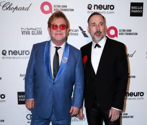 Elton John et son époux David Furnish