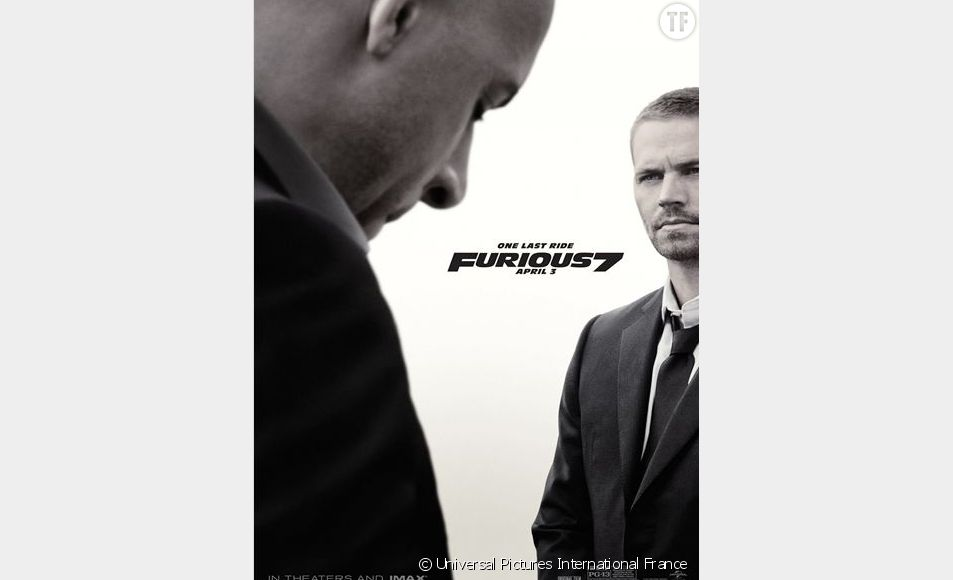 """L'affiche de """"Fast and Furious 7 : One Last Ride"""""""