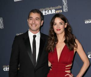 Ali Baddou et sa compagne, la comédienne Charlotte Le Bon.