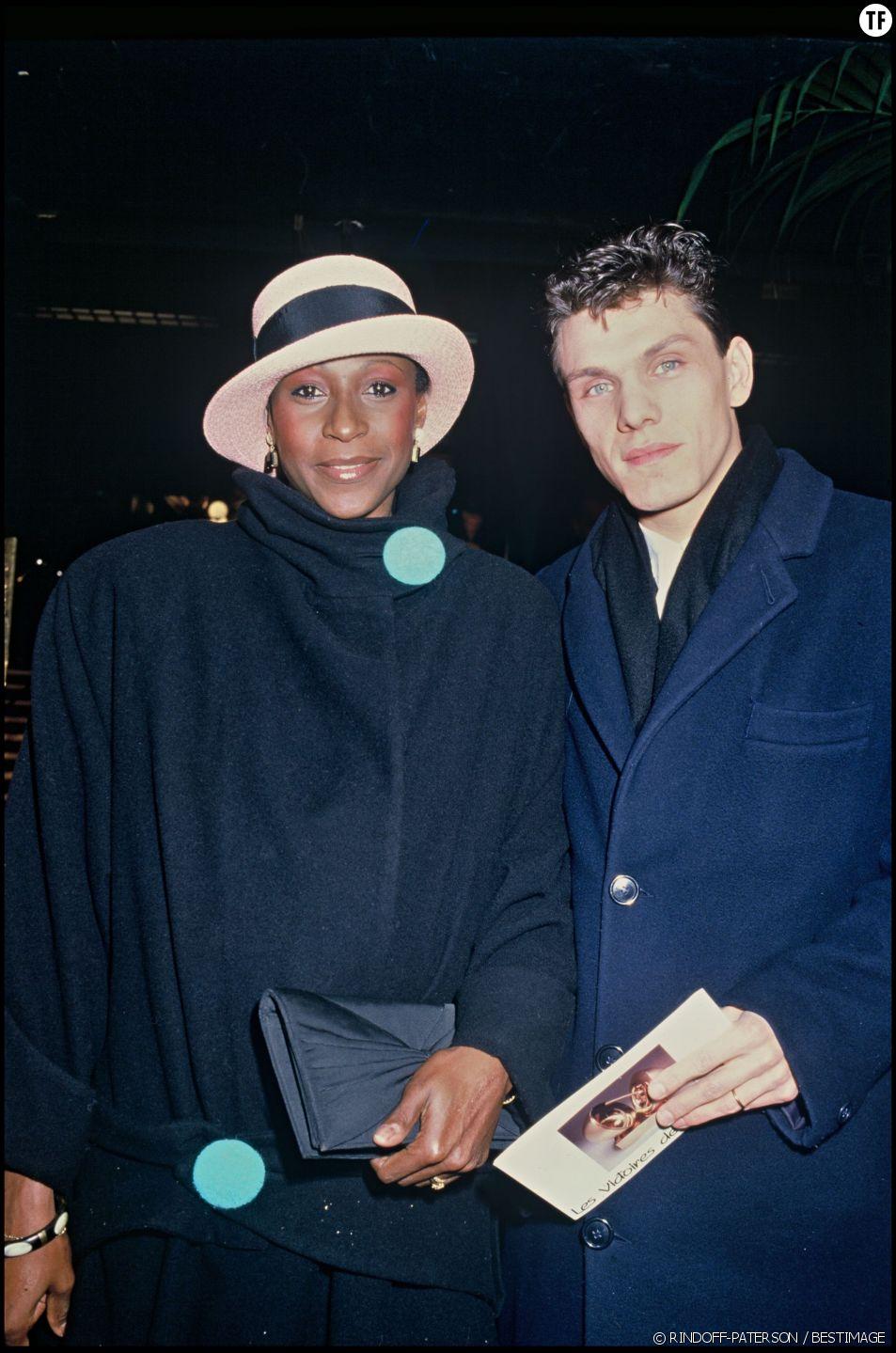 Marc Lavoine et Denise Pascale en 1985.