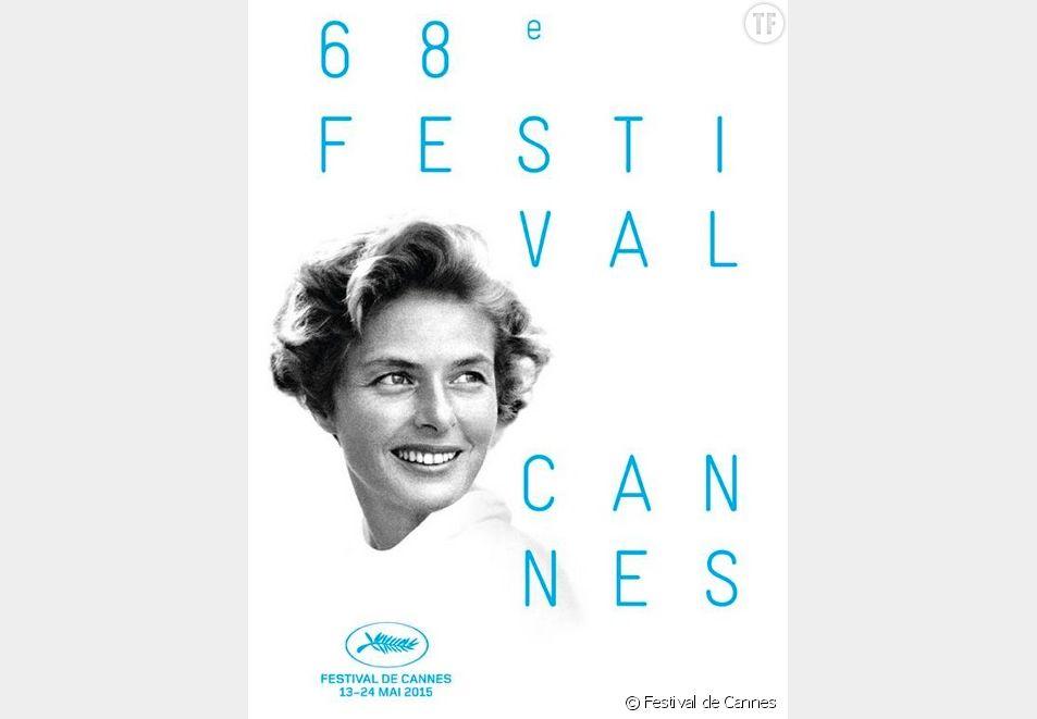 Festival de Cannes 2015 : Ingrid Bergman sur l'affiche officielle