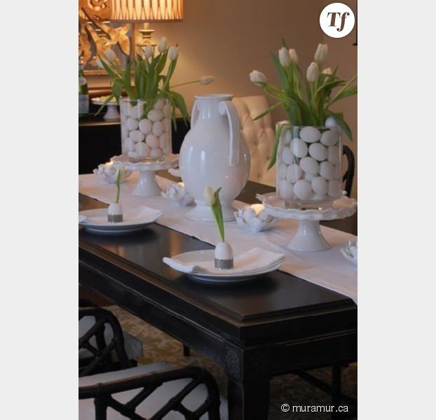 Table contemporaine. Passion blanc !