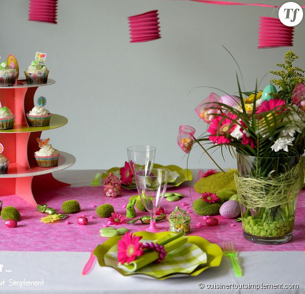 P ques 2015 5 id es simples et originales pour votre for Decoration de table idees