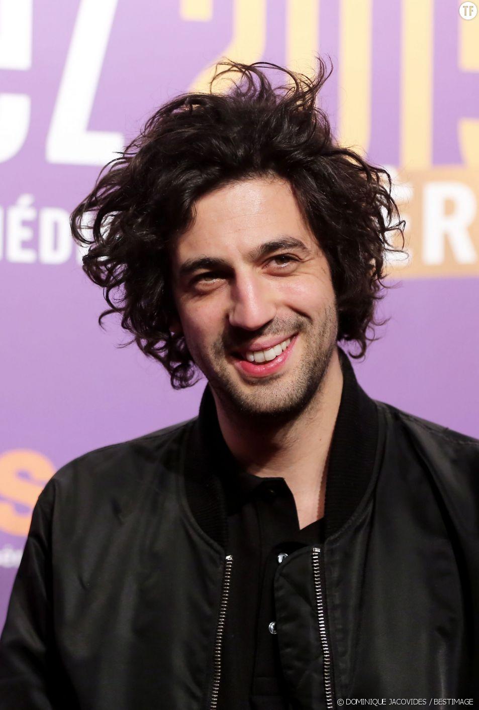 Max Boublil à la soirée d'ouverture du 18e festival international du film de comédie de l'Alpe d'Huez, le 14 janvier 2015.