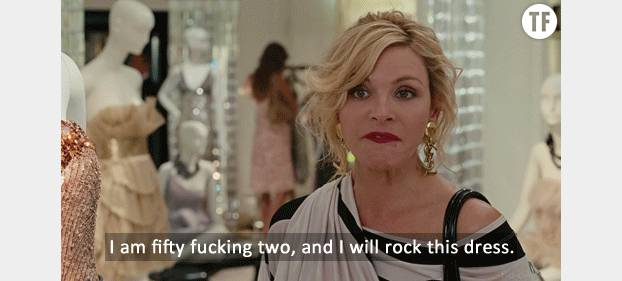 "Samantha Jones dans la série ""Sex & The City"""
