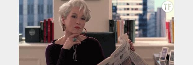 "Meryl Streep dans ""Le diable s'habille en Prada"""