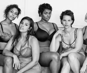Les sublimes mannequins de la marque de lingerie Lane Bryant
