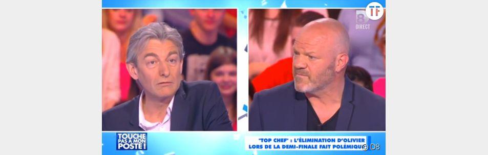 Philippe Etchebest sur le plateau de Touche pas à mon poste