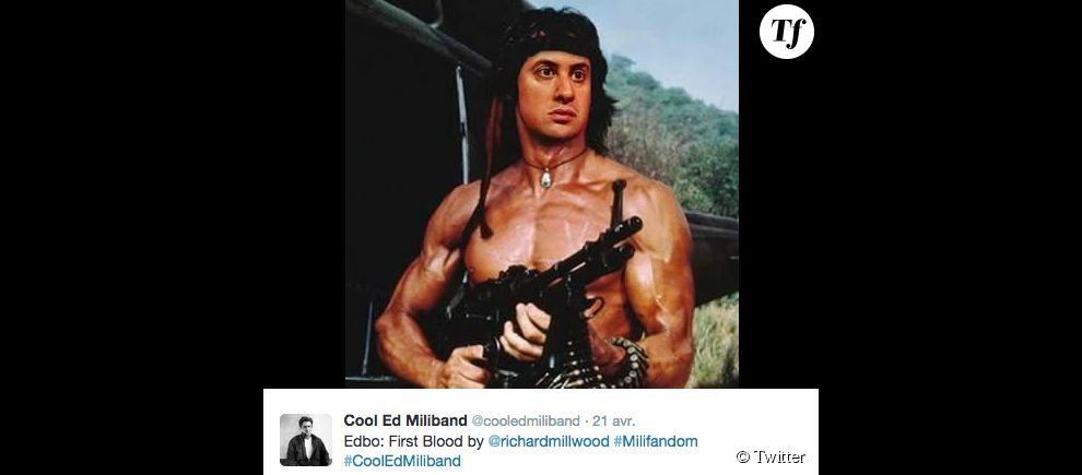 """Edbo"", la version Rambo d'Ed Miliband."