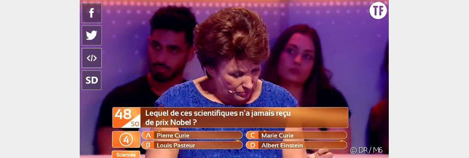 """Roselyne Bachelot repasse son bac dans l'émission de """"Qu'est-ce-que je sais vraiment ?"""" de mardi 5 mai."""