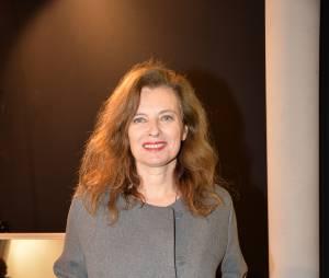"""Valérie Trierweiler au défilé """"Paul et Joe"""" en mars 2015"""