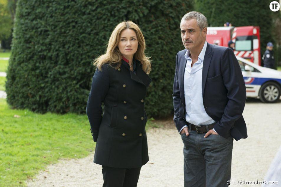 Jean-Michel Tinivelli et Marine Delterme dans Alice Nevers, le juge est une femme