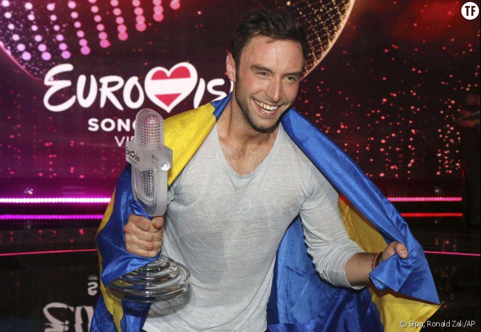 Mans Zelmerlöw, la gagnant de l'Eurovision 2015