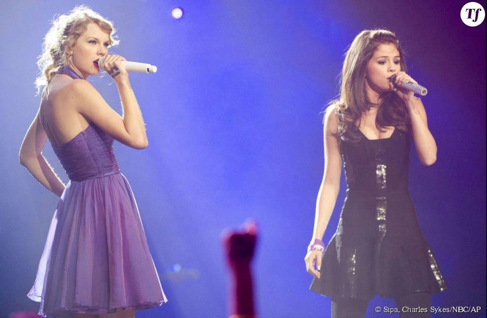 Selena Gomez et Taylor Swift ensemble sur scène en 2011