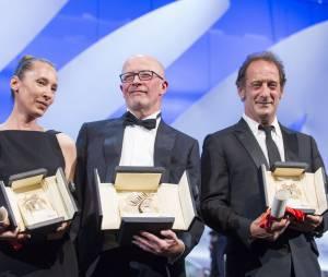 Cannes 2015 - Audiard, Emmanuelle Bercot et Vincent Lindon : revoir leurs remises de prix