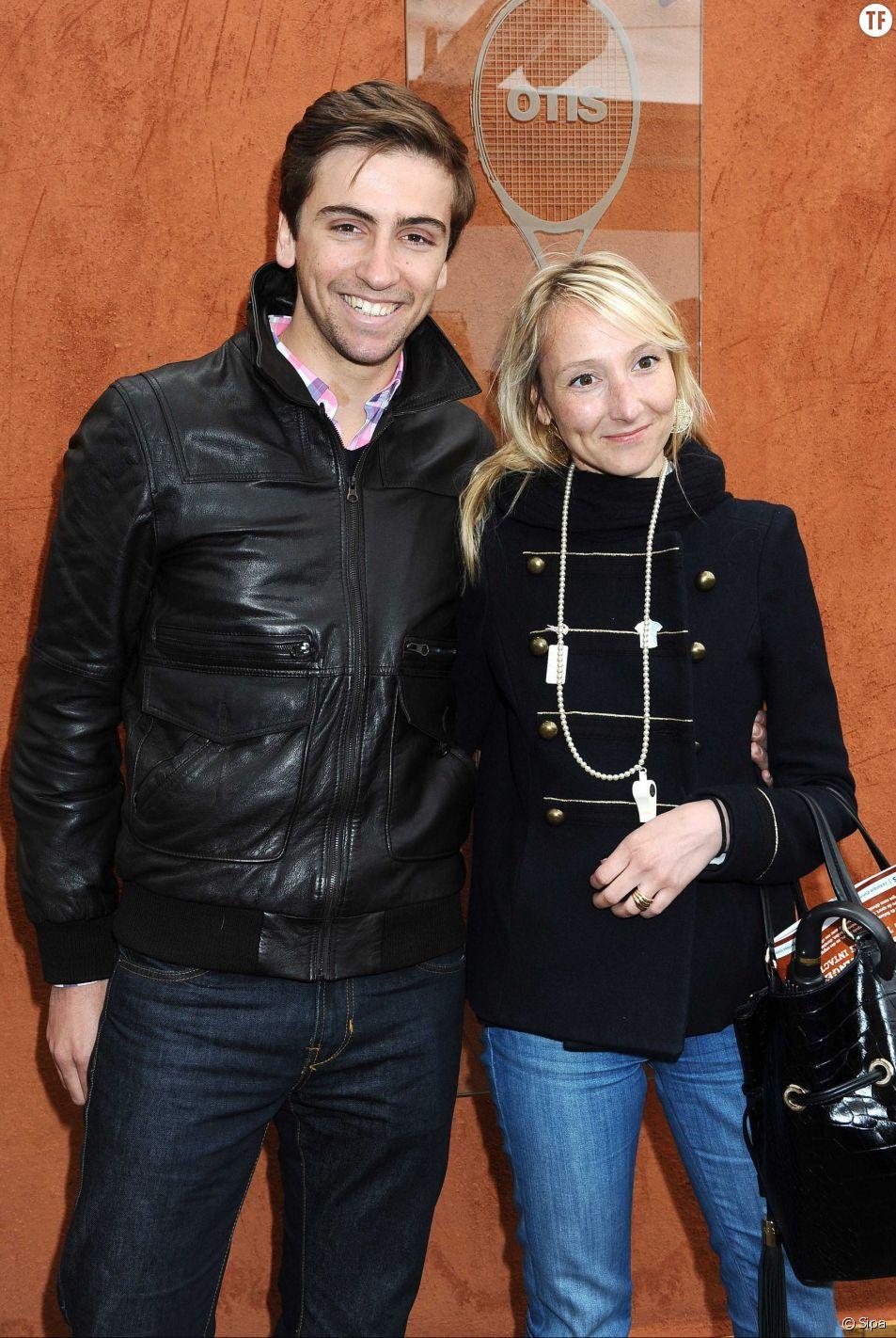 Audrey Lamy et son compagnon Thomas