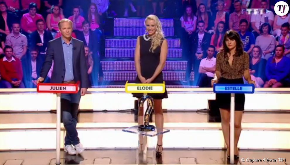 Julien Arnaud, Elodie Gossuin et Estelle Denis en finale du Grand concours des animateurs (samedi 30 mai)