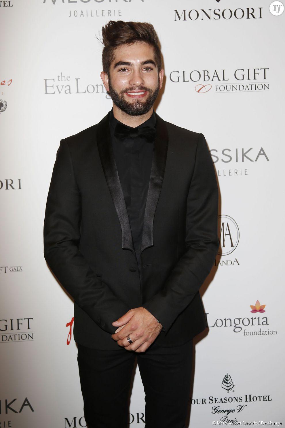 Kendji Girac au dîner du Global Gift Gala.