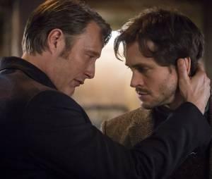 Mads Mikkelsen et Hugh Dancy, les deux personnages principaux de la série Hannibal