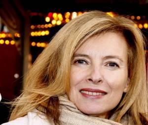 Valérie Trierweiler à un soirée de soutien au Secours populaire