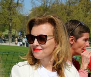 Valérie Trierweiler au rassemblement de soutien pour les otages enlevées par Boko Haram en avril dernier