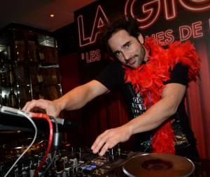 Florent Peyre mixe au restaurant la Gioia à Paris le 11 février 2015