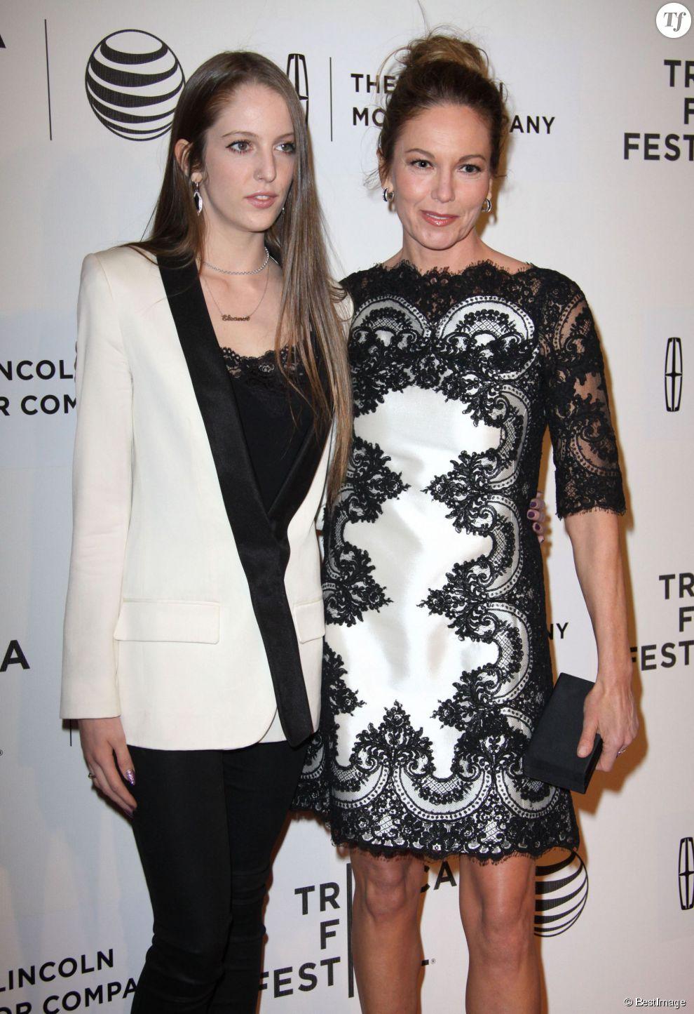 Diane Lane et sa fille Eleanor Jasmine Lambert, fille de Christophe Lambert