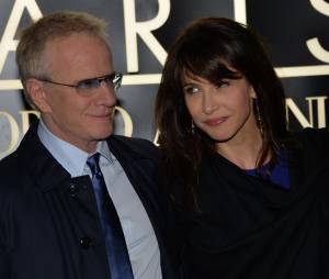 Sophie Marceau et Christophe Lambert en janvier 2014