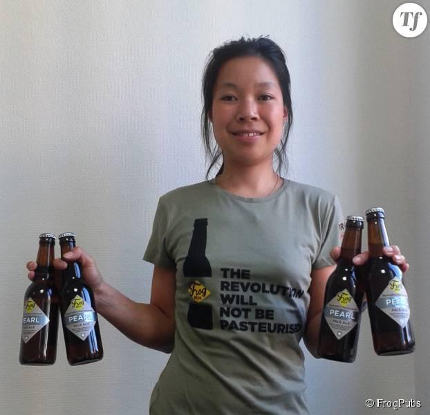 Eugénie Mai-Thé, brasseuse-en-chef chez FrogBeer