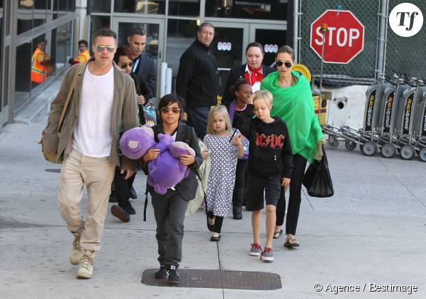 Le clan Jolie-Pitt