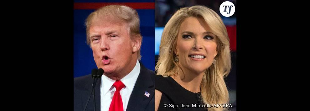 Donald Trump face à Megyn Kelly